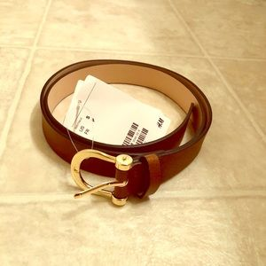 Accessories - Cognac Belt